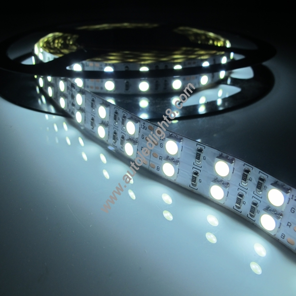 5M 5050 SMD Double Row 600 LED Warm White Waterproof Strip