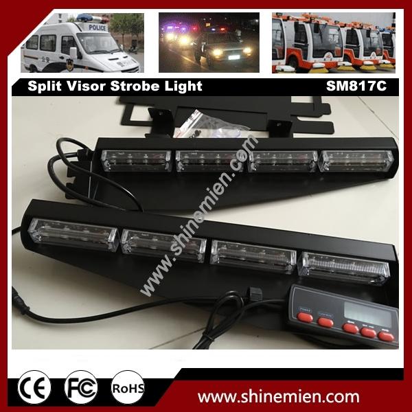 Interior Emergency Lightbar White Strobe 32 Led Light Bar